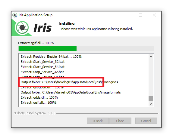 installing-iris-windows-10