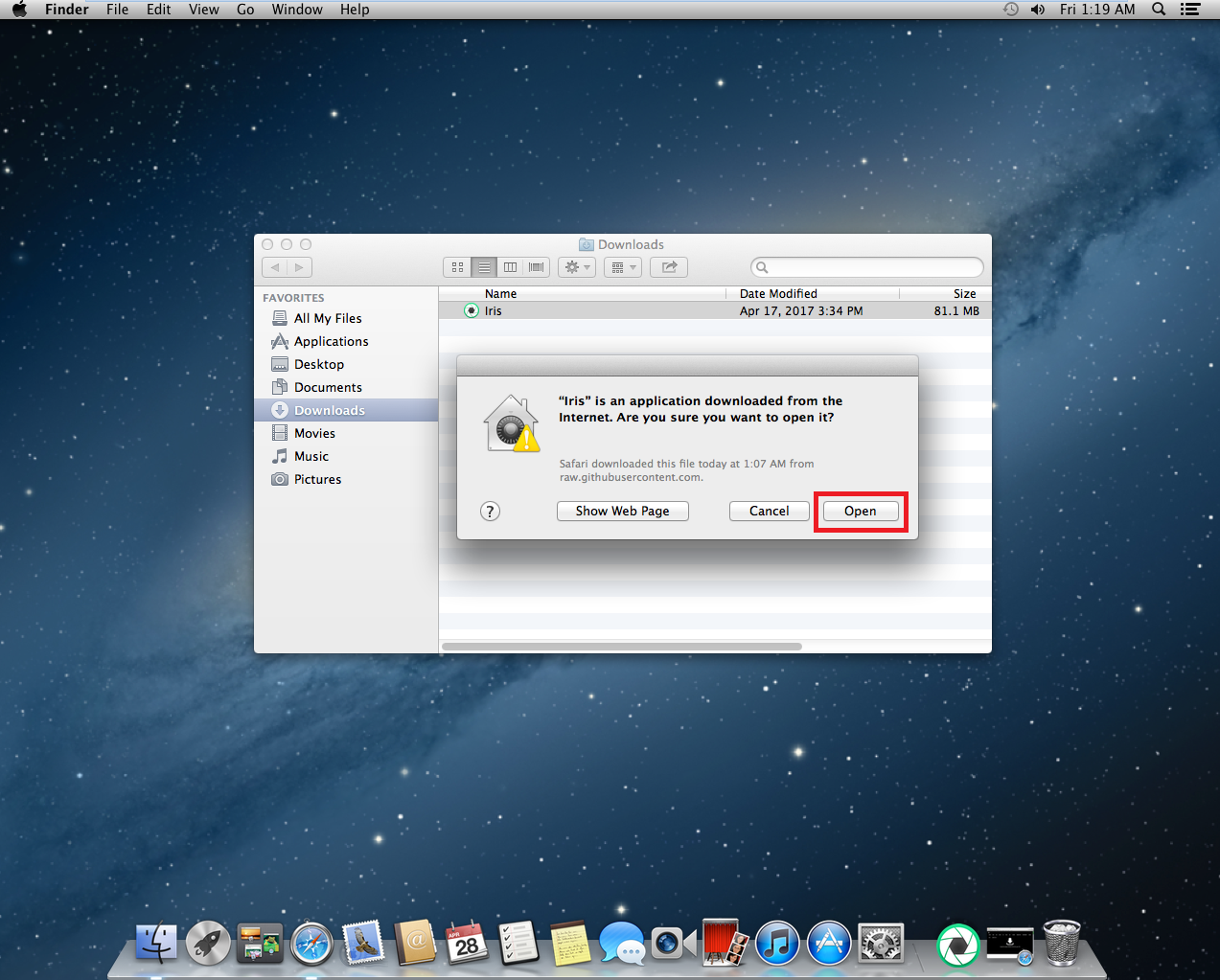 how to open msi software on mac