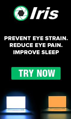 Iris - Blue light filter for Eye Protection
