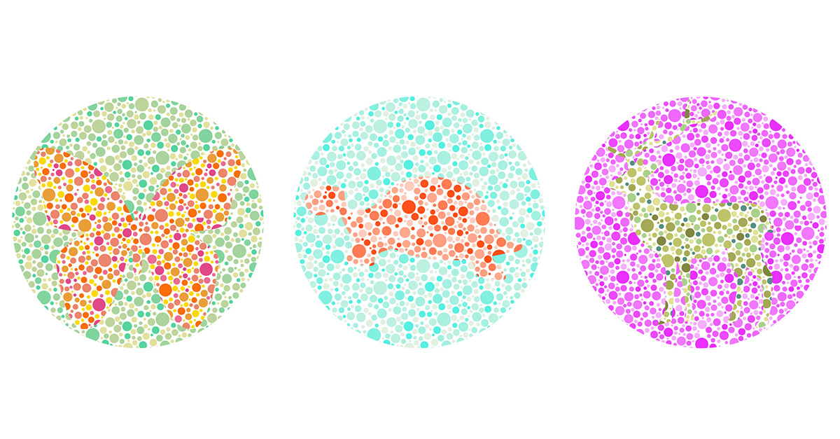 How the Red-Green Colorblind Tests works for Kids? - 💡💻 Iris ...